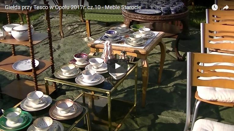 Giełda przy Tesco w Opolu 2017r. cz.10 - Meble Starocie