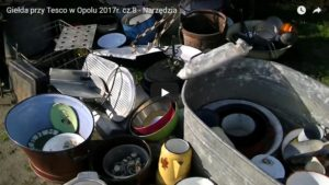 Giełda przy Tesco w Opolu 2017r. cz.8 - Narzędzia