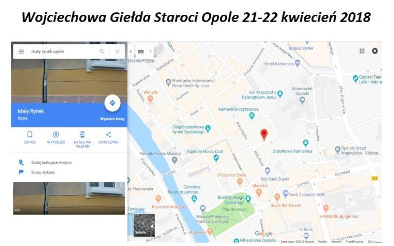 Wojciechowa Giełda Staroci Opole 21-22 kwiecień 2018